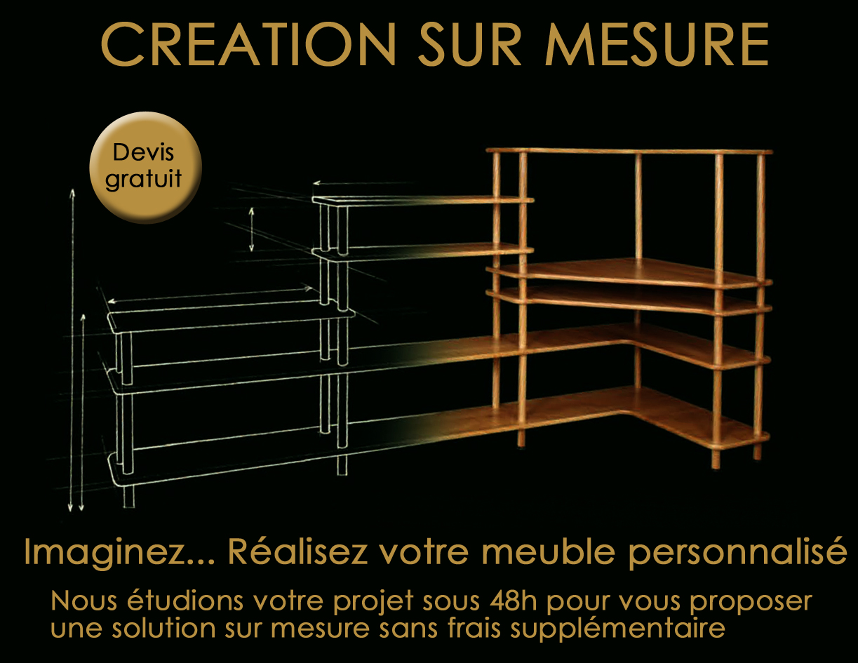 meubles modulables et volutifs en bois massif. Black Bedroom Furniture Sets. Home Design Ideas