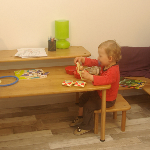 Solutions de meubles évolutifs pour enfant en bois massif