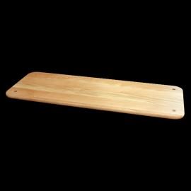 Tablette droite en chêne massif