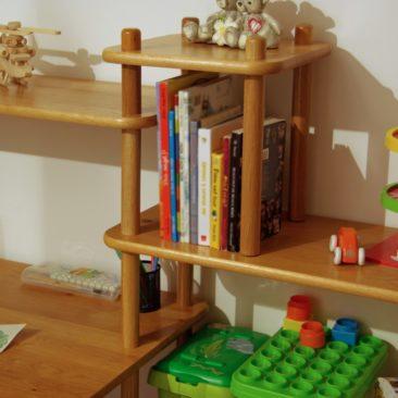 Bibliothèque du bureau enfant KID