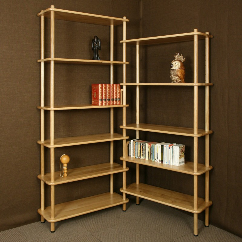 meuble bibliotheque d angle maison design. Black Bedroom Furniture Sets. Home Design Ideas