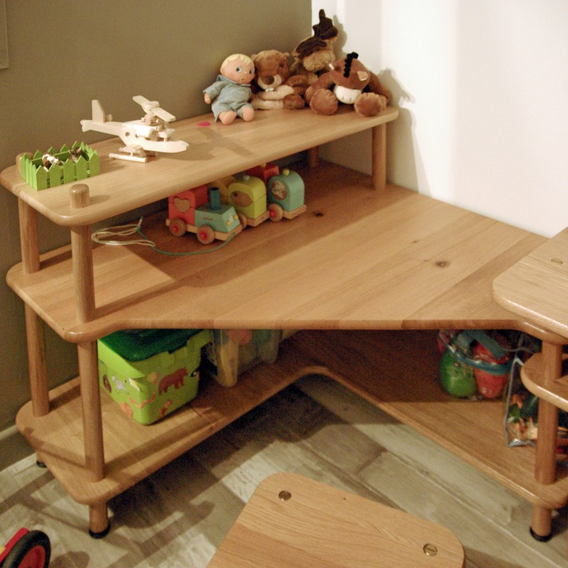 Meuble d 39 angle enfant baby - Bureau d angle enfant ...