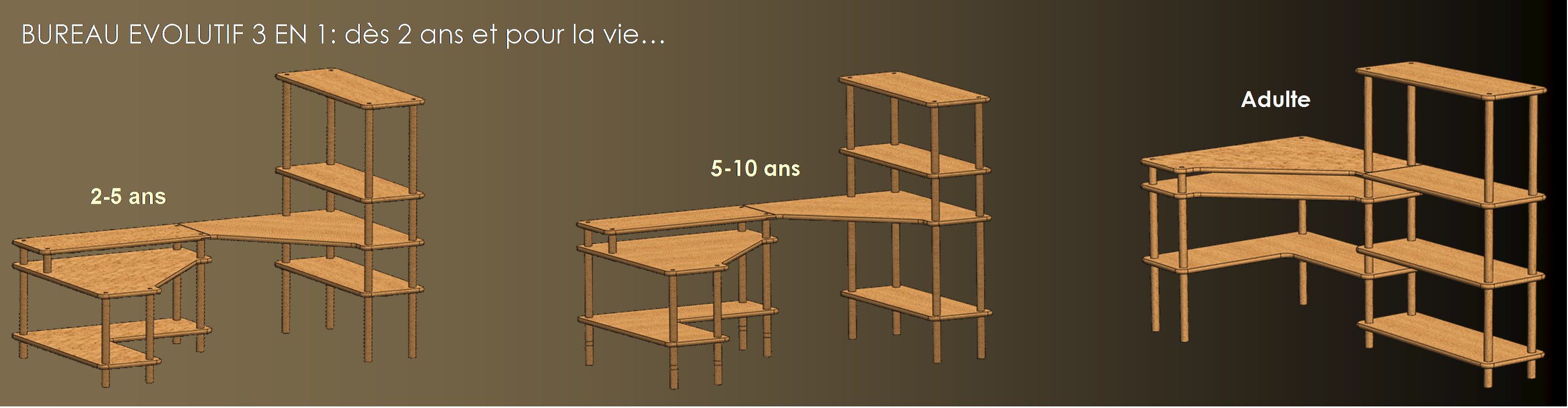 meuble enfant en bois massif. Black Bedroom Furniture Sets. Home Design Ideas