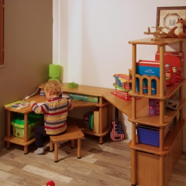 Mobilier modulable pour enfant for Mobilier bureau evolutif