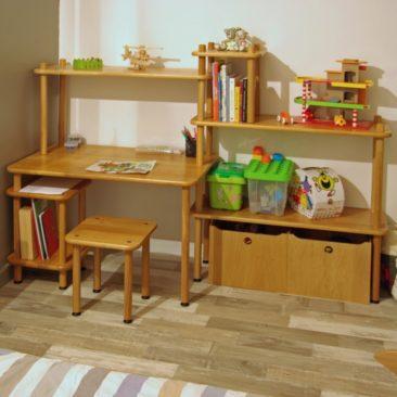 Vue en situation du bureau enfant KID