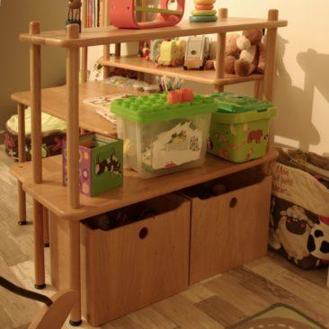 TE04 - table d'activité KID - rangement jouets