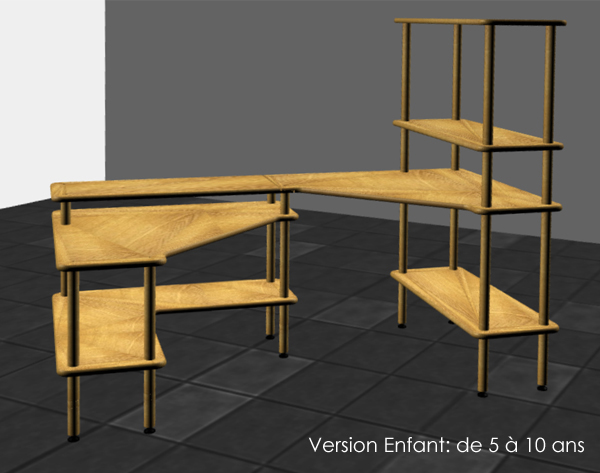 Bureau PLUTON - version enfant