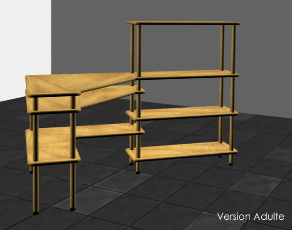 Bureau PLUTON - version adulte