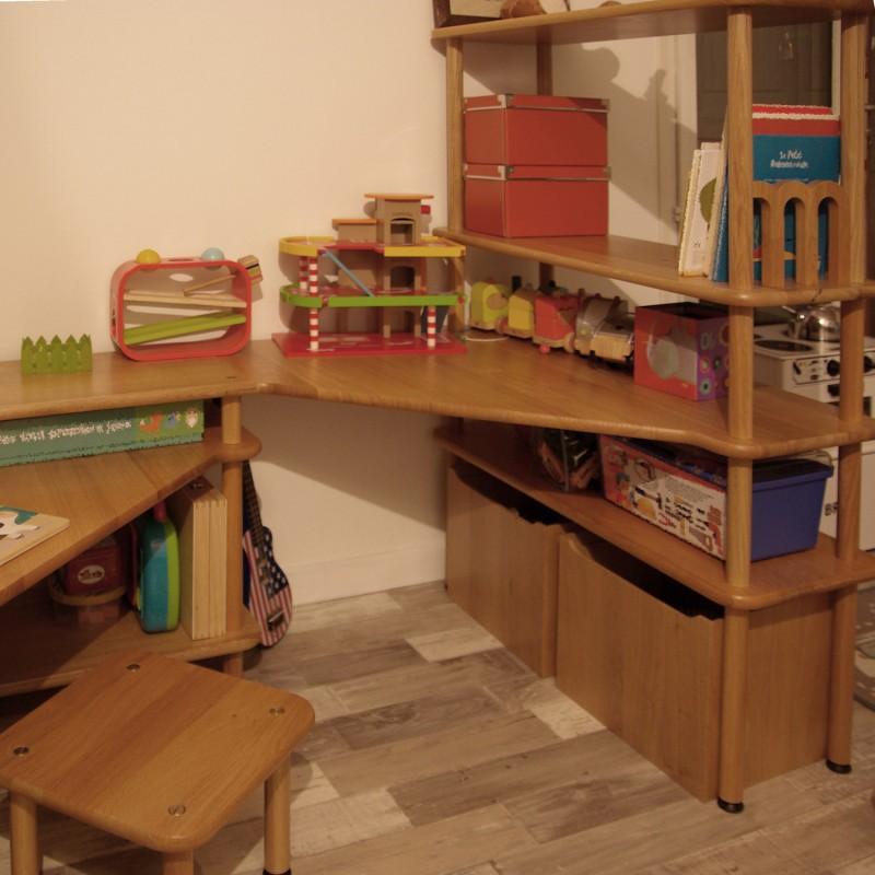 te03 table d 39 activit pluton coin bureau enfant. Black Bedroom Furniture Sets. Home Design Ideas
